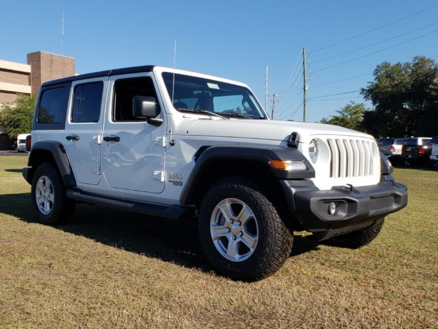 New 2018 Jeep Wrangler JL Unlimited Sport S