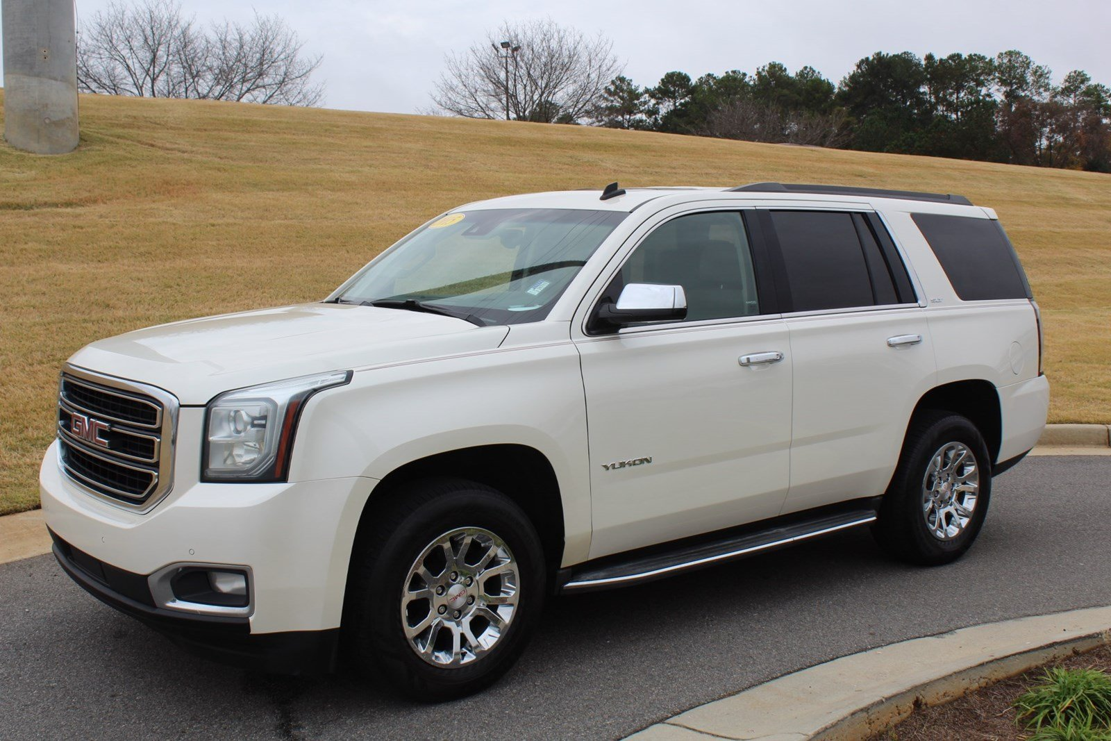 2015 Gmc Yukon Slt >> Pre Owned 2015 Gmc Yukon Slt With Navigation 4wd