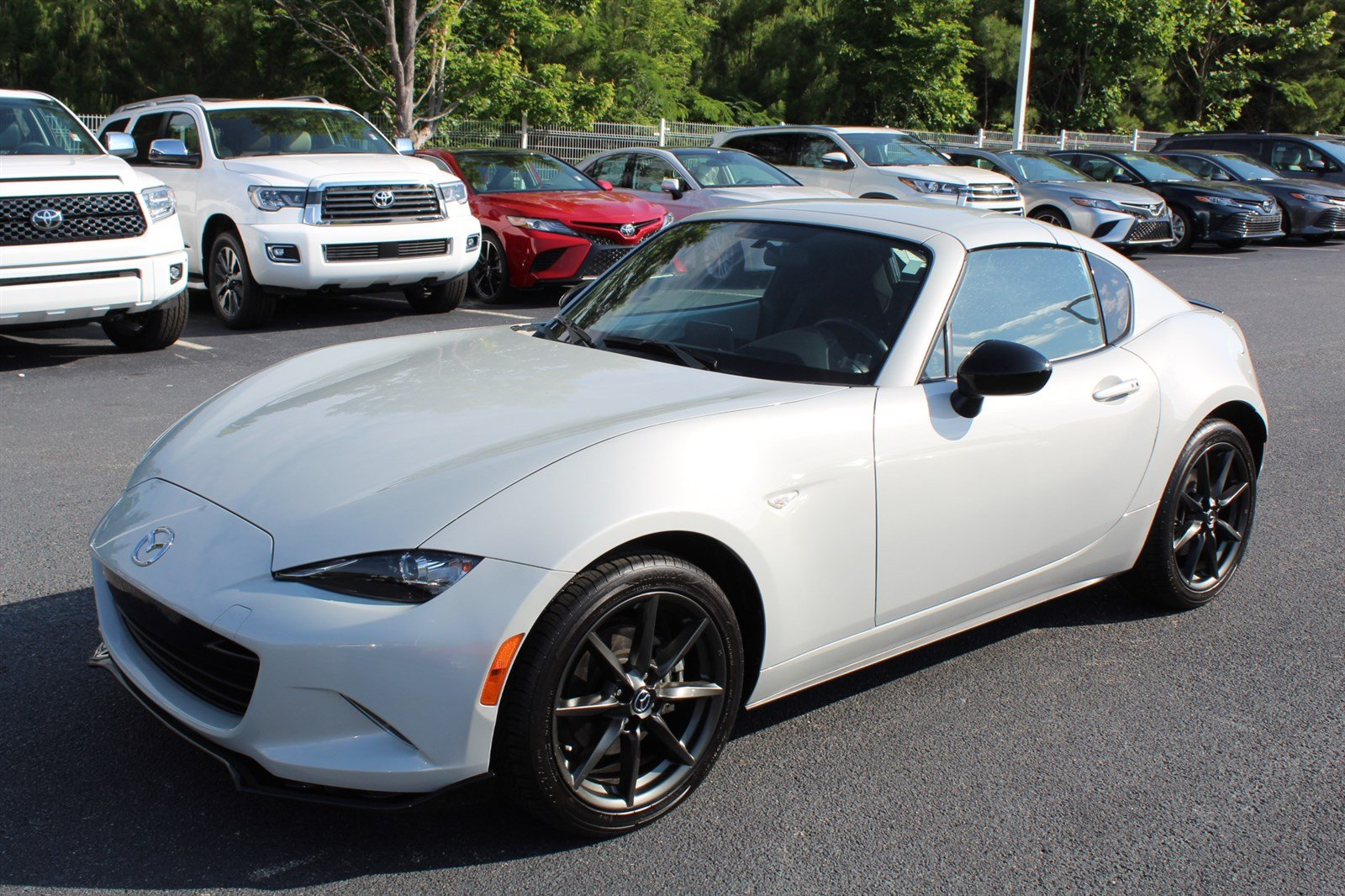 Pre Owned 2017 Mazda Mx 5 Miata Rf Club