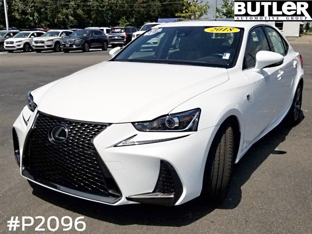 Pre-Owned 2018 Lexus IS 350 F Sport RWD 4dr Car