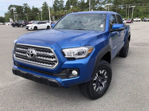 Certified Pre-Owned 2017 Toyota Tacoma TRD Off Road Double Cab
