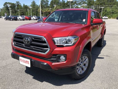 Pre-Owned 2018 Toyota Tacoma SR5 Double Cab V6