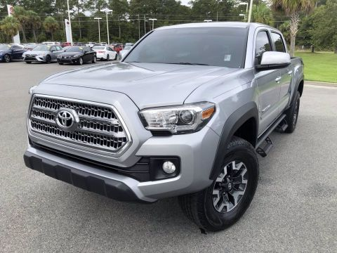 Certified Pre-Owned 2017 Toyota Tacoma 4WD TRD Off Road Double Cab