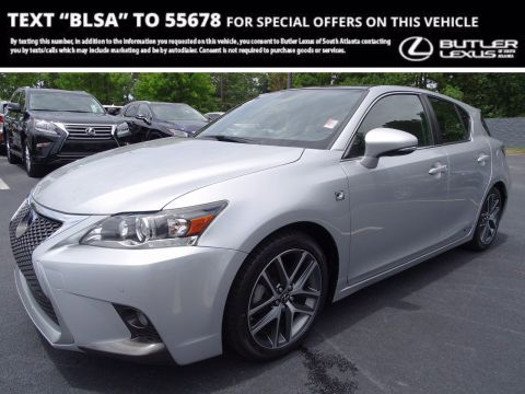 Certified Pre-Owned 2015 Lexus CT 200h 200h
