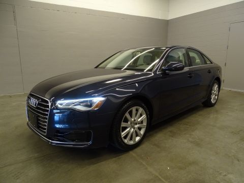 Certified Pre-Owned 2016 Audi A6 2.0T Premium